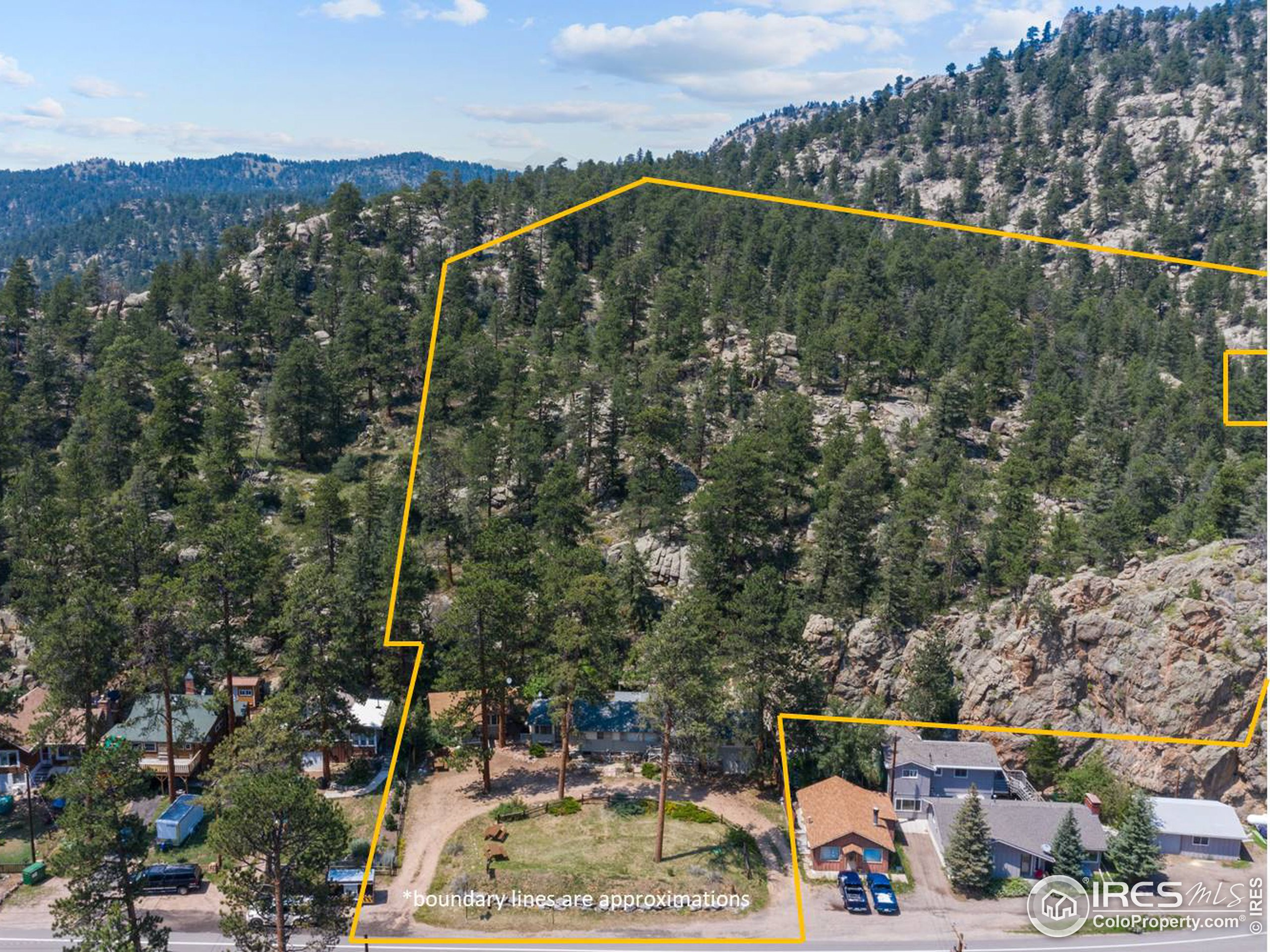 4.06 acres abutting National Forest