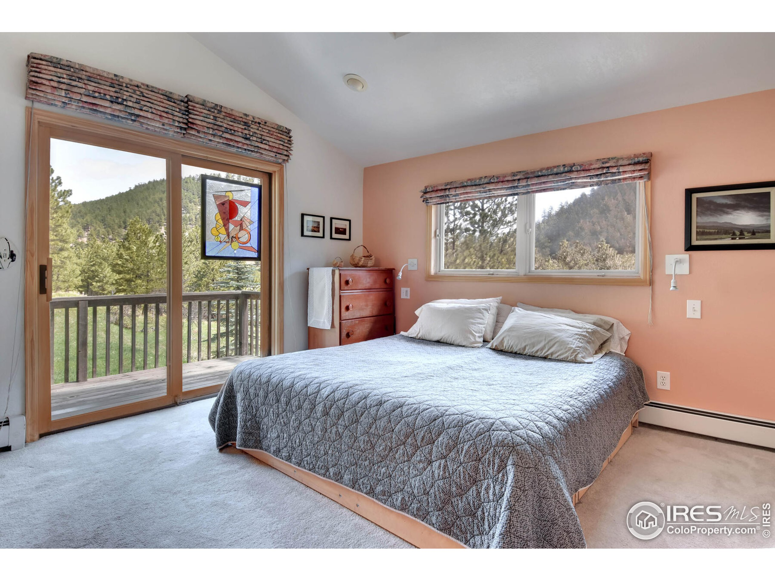 Master Bedroom with Private Balcony