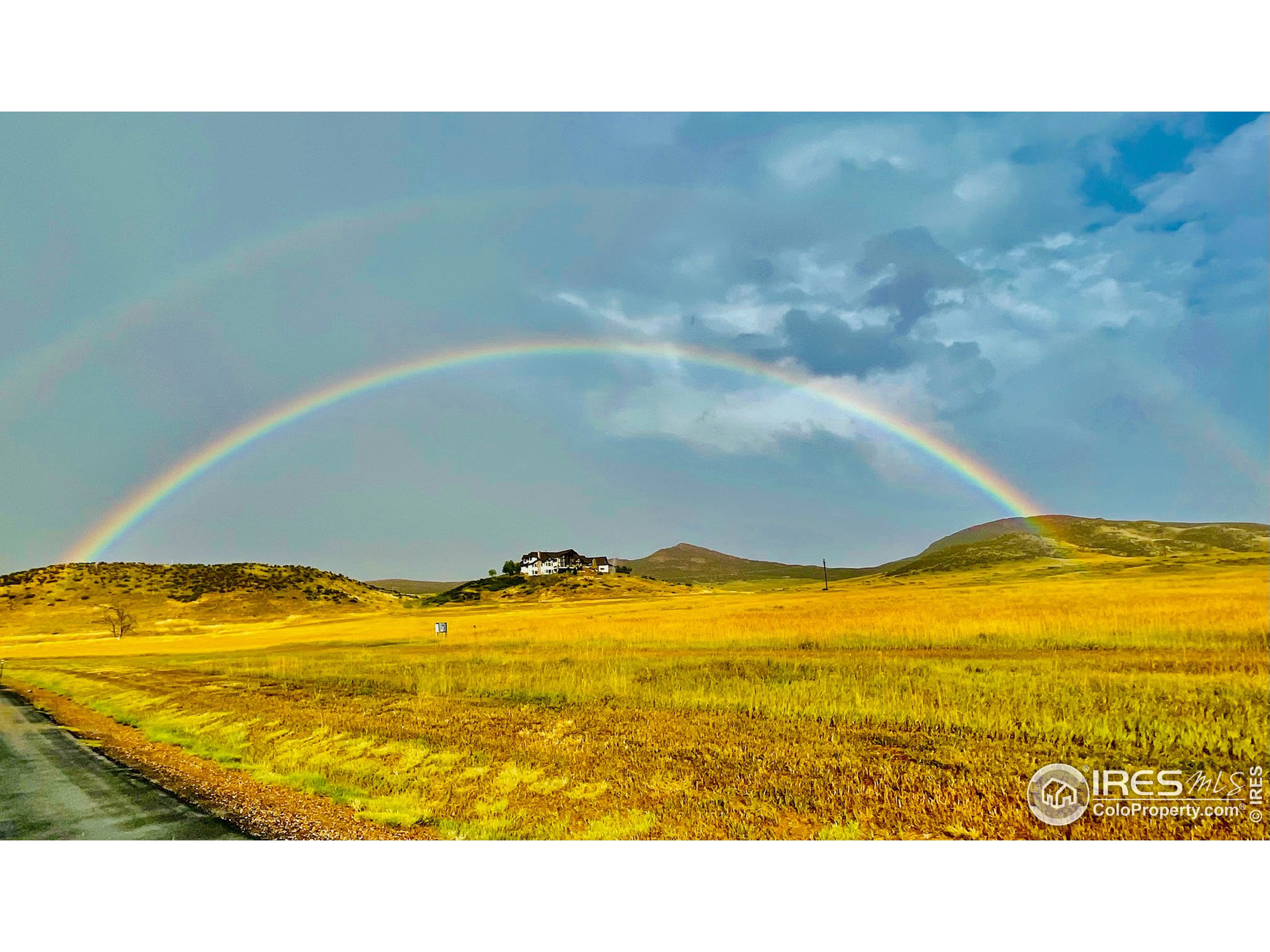 Wonder what is really at the end of the Rainbow? Lot 8 in the Indian Creek Ranch Community in Loveland.