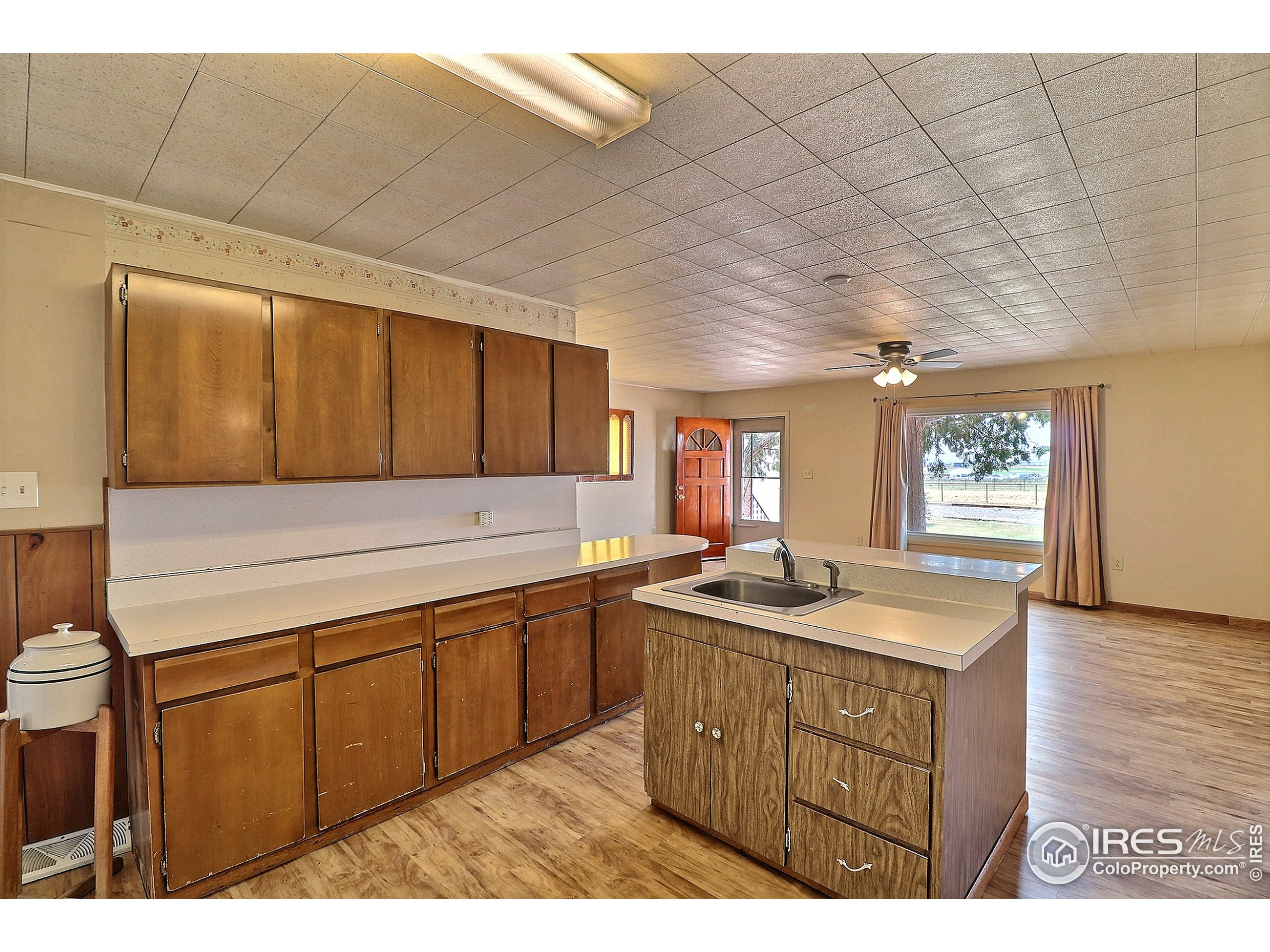 Lots of Cabinets and Countertop Space