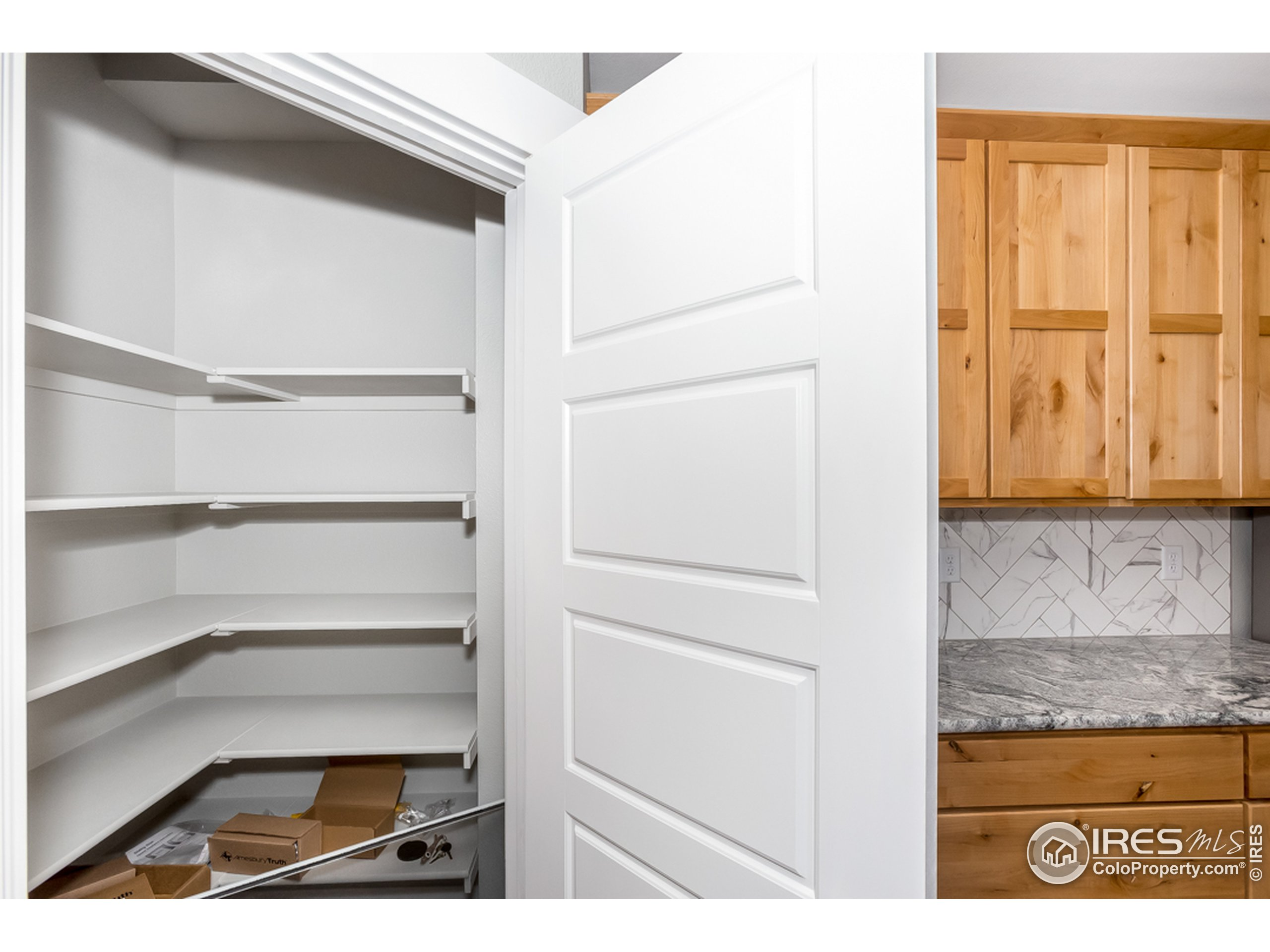A large pantry for the kitchen