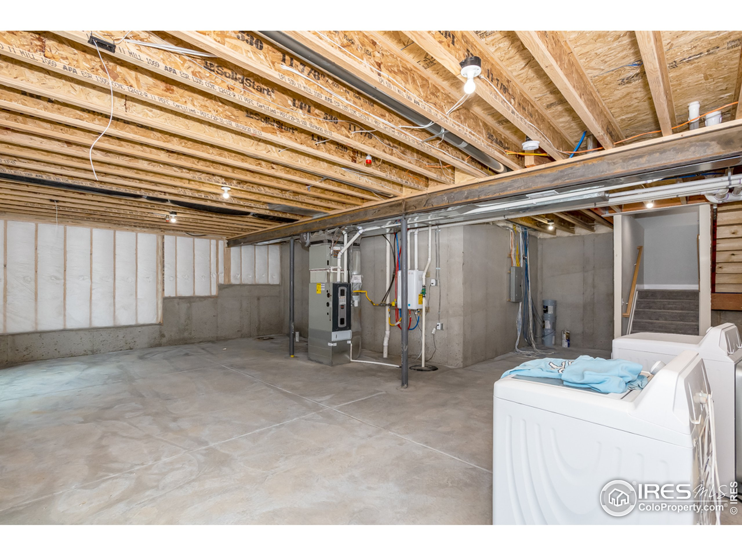 Plenty of room to expand--ask about Benchmark's basement finish packages
