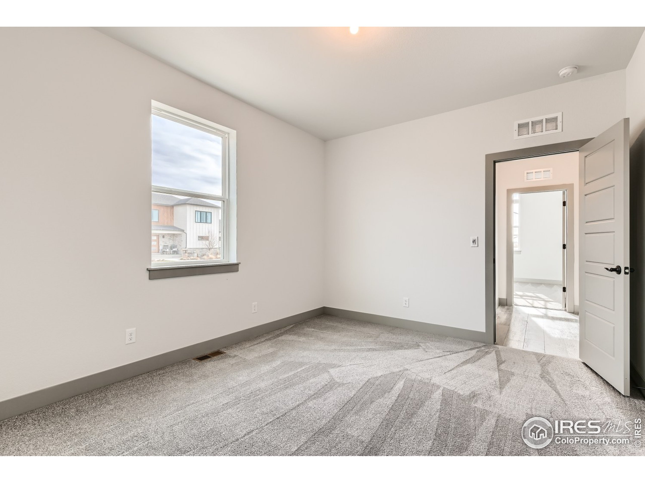 Finished Family Room in Basement