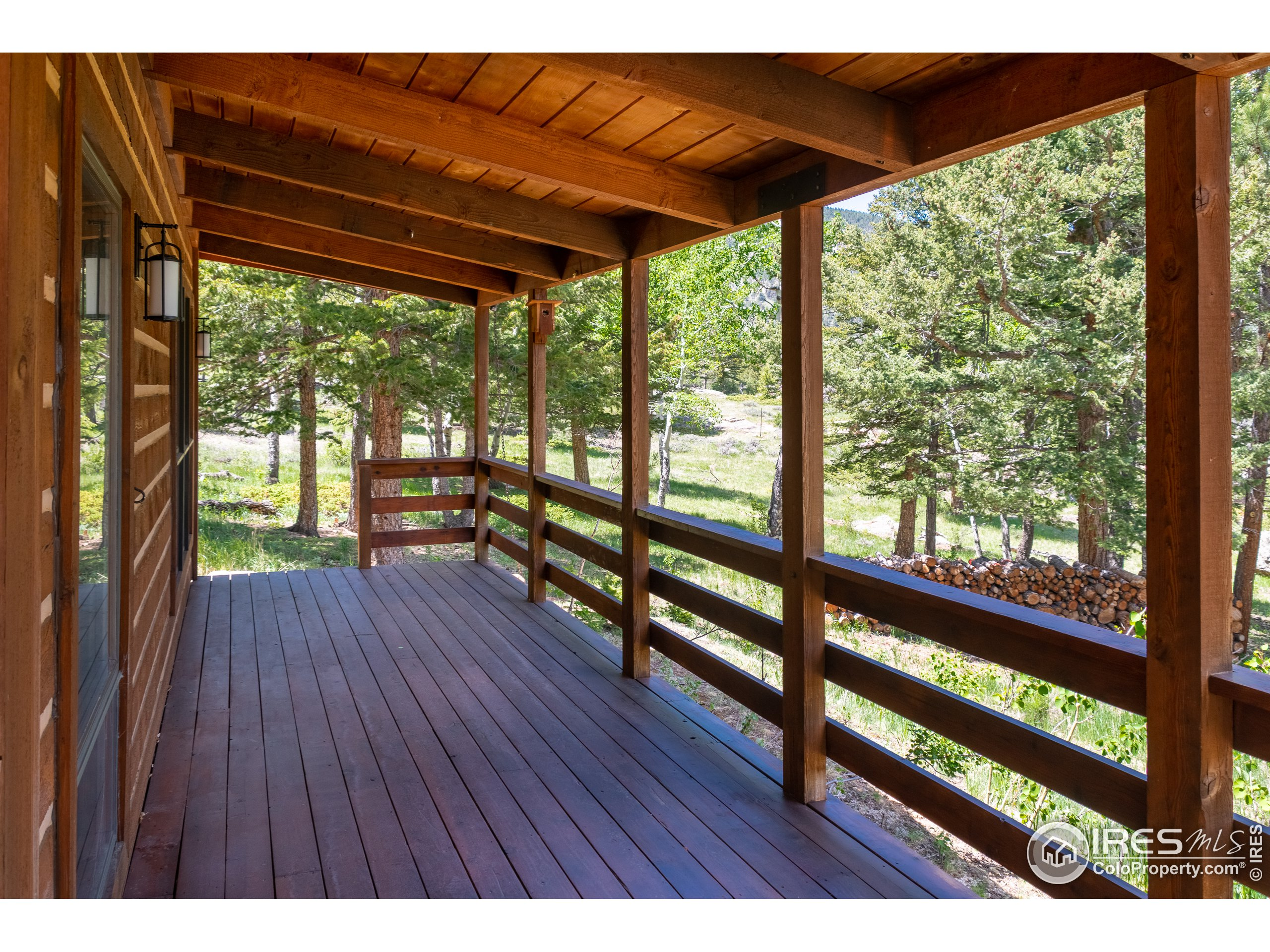 Guest Cabin Covered Porch