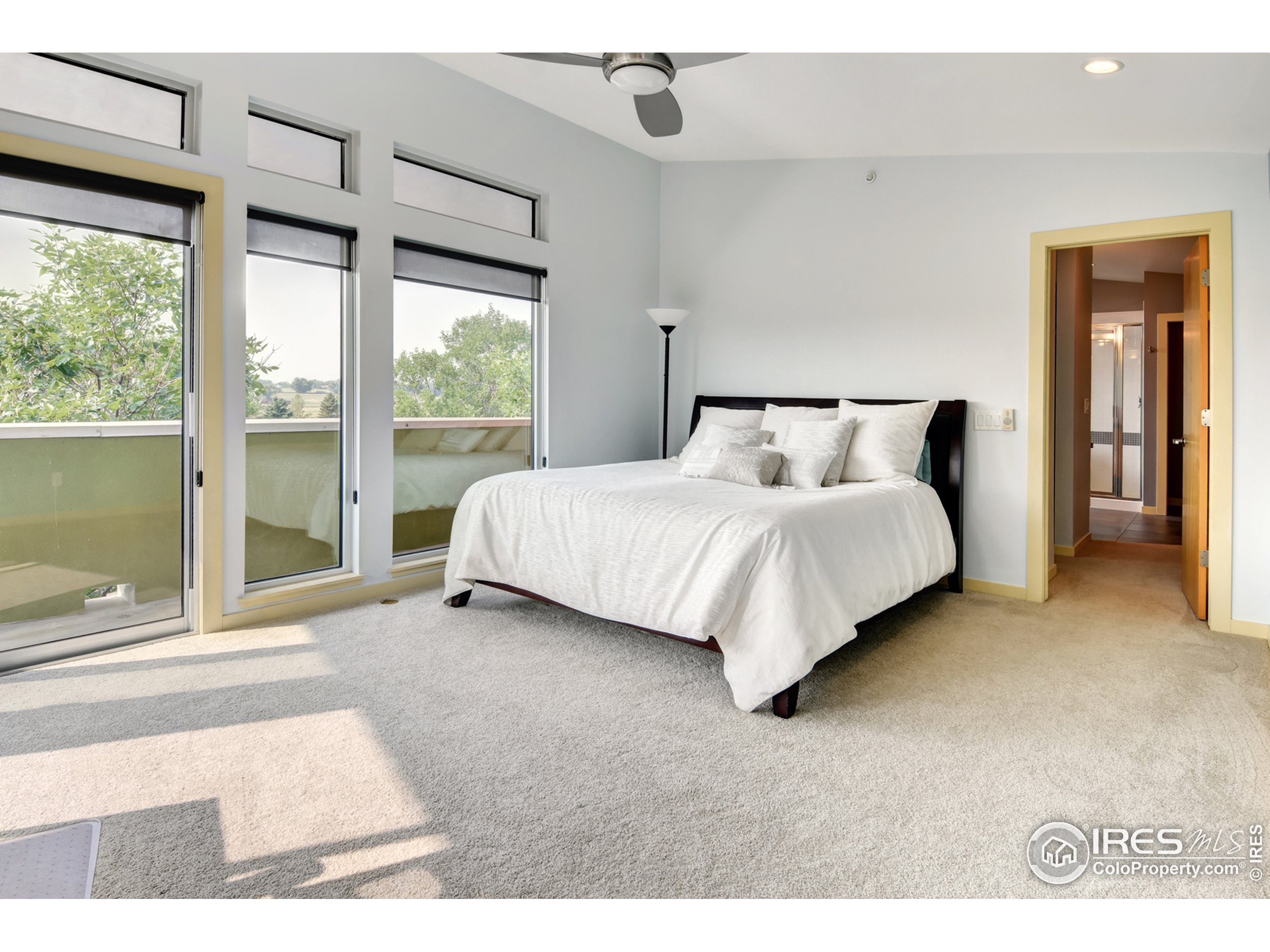 Master Suite with wrap around deck