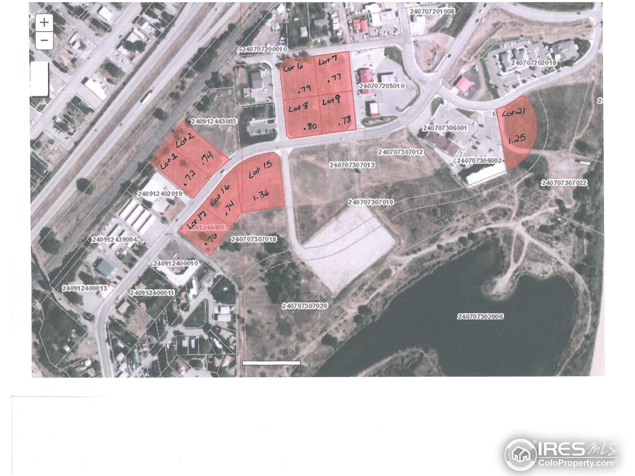 10 Lots Available