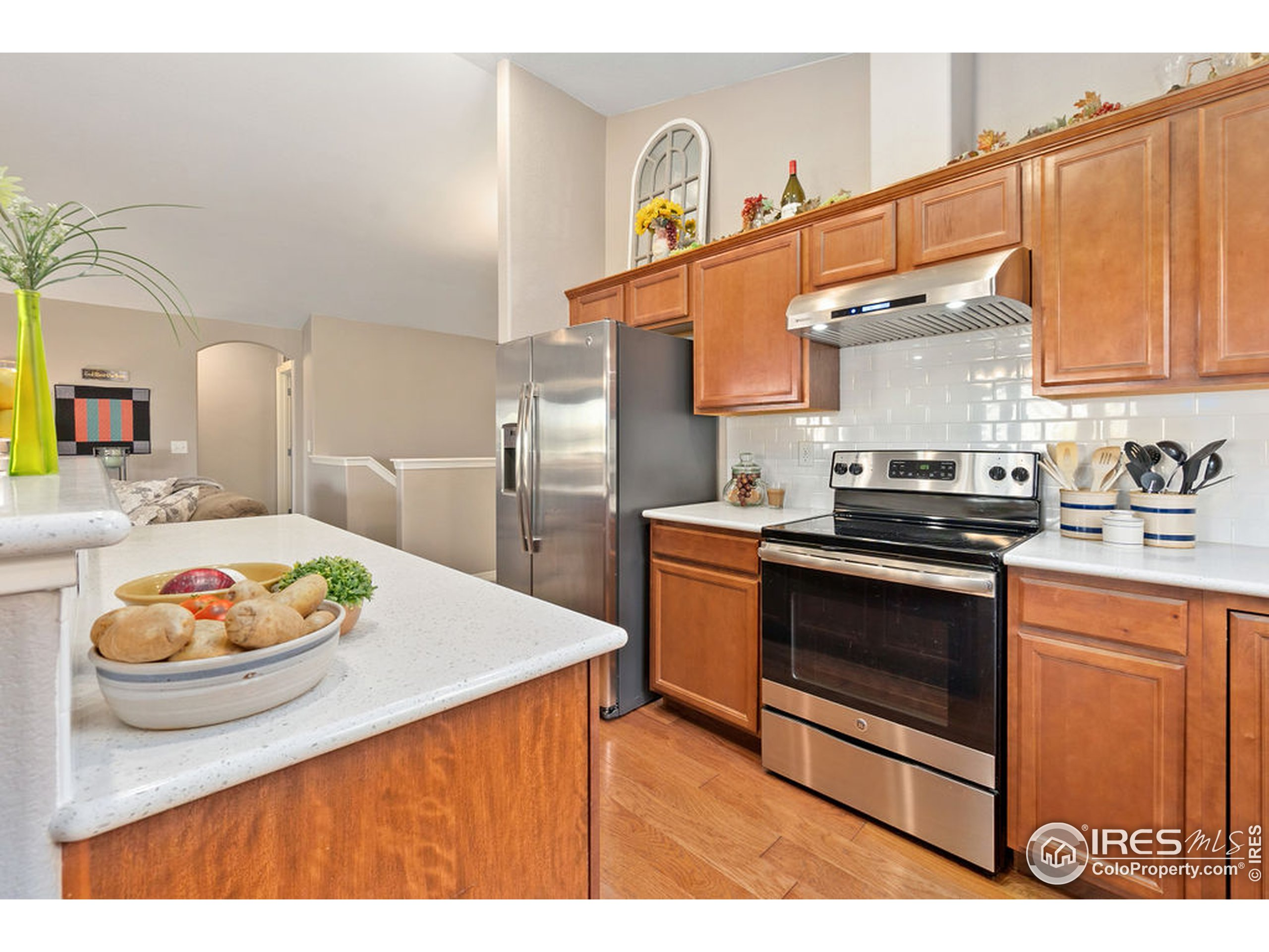 All stainless steel appliances included. Above stove is Xtremeair Vent Hood