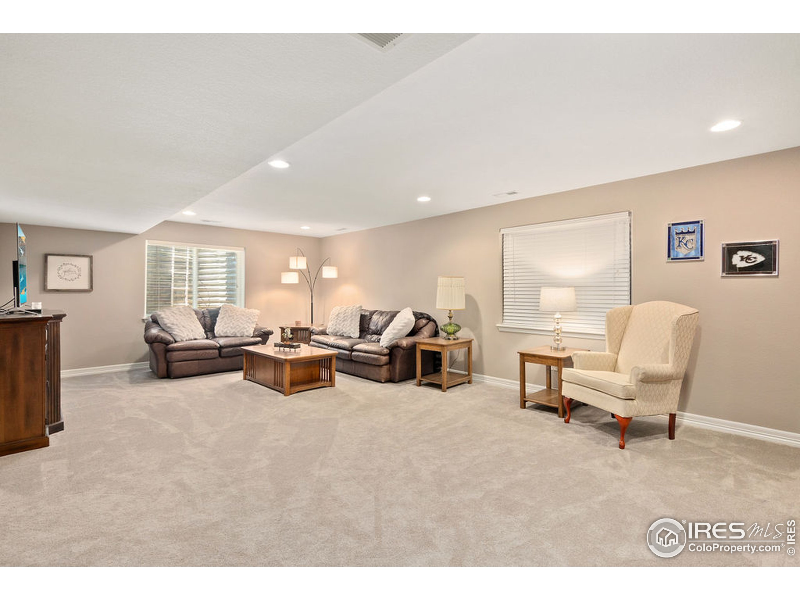 2nd living area in basement