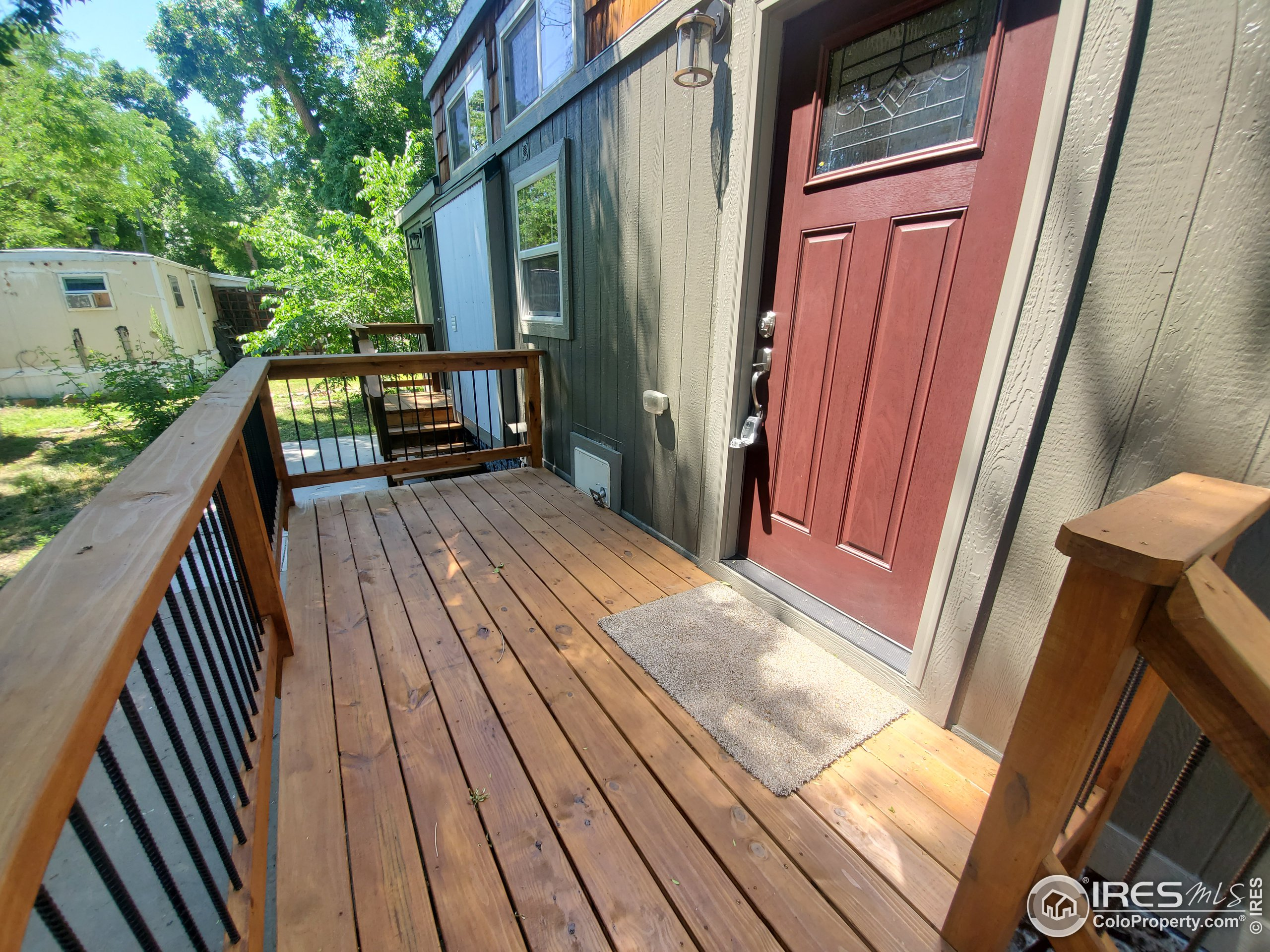 Great front deck