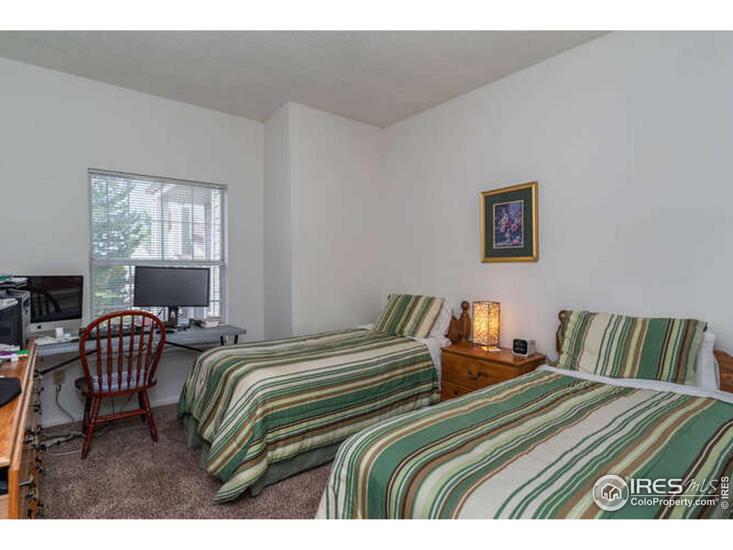 Large Second bedroom with walk-in closet