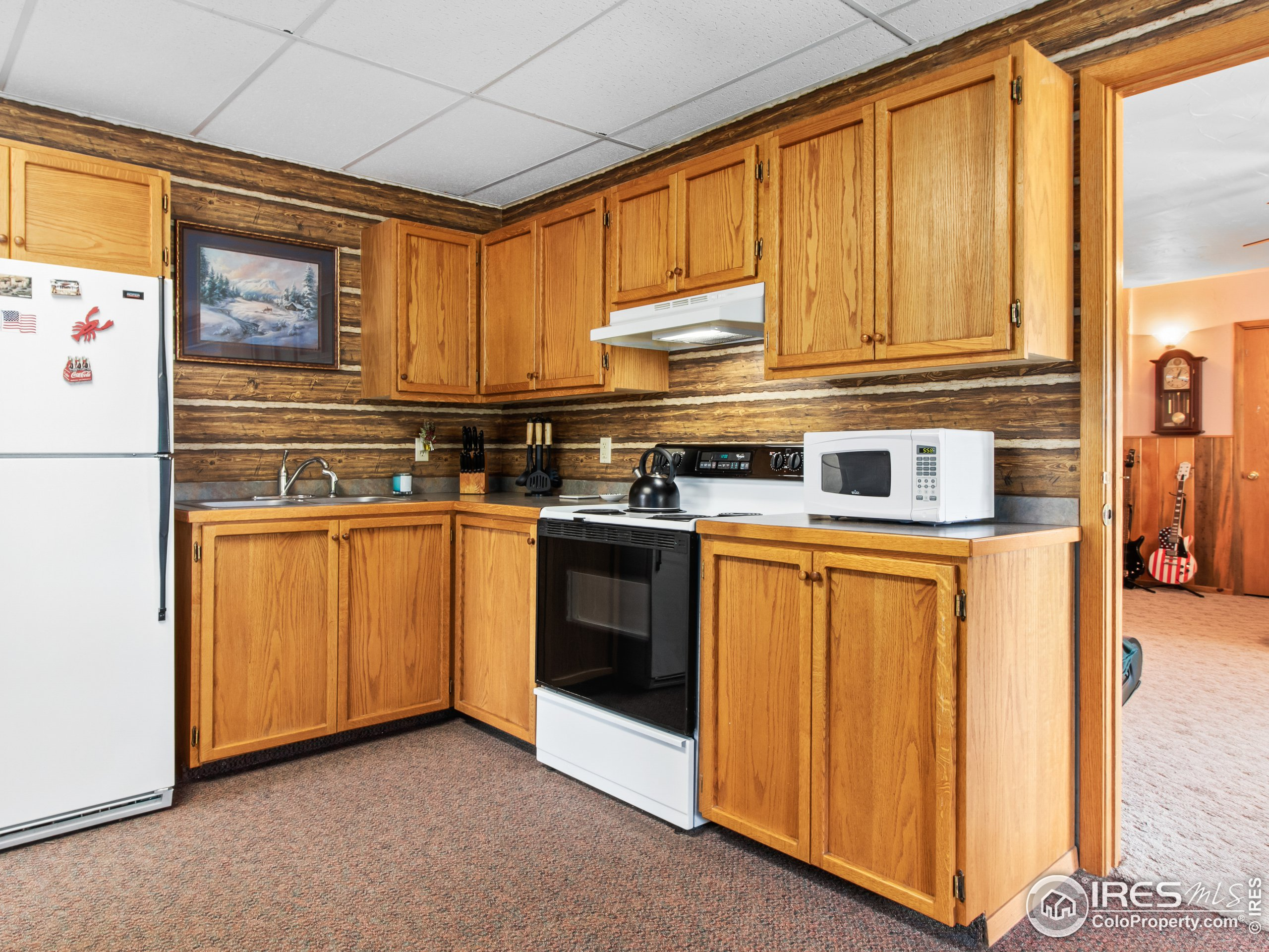 Full Kitchen in In-law Suite