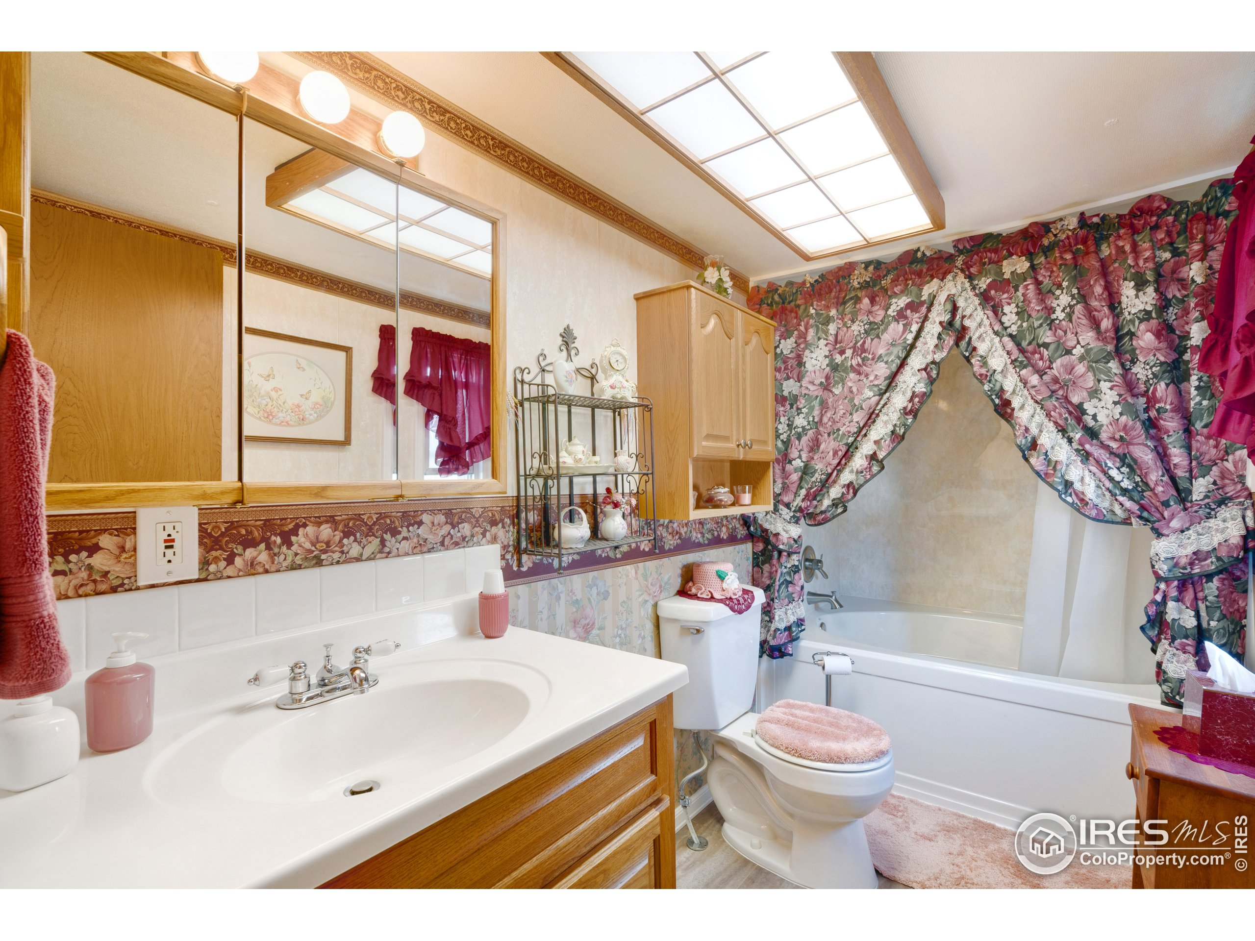 Primary bathroom with large tub