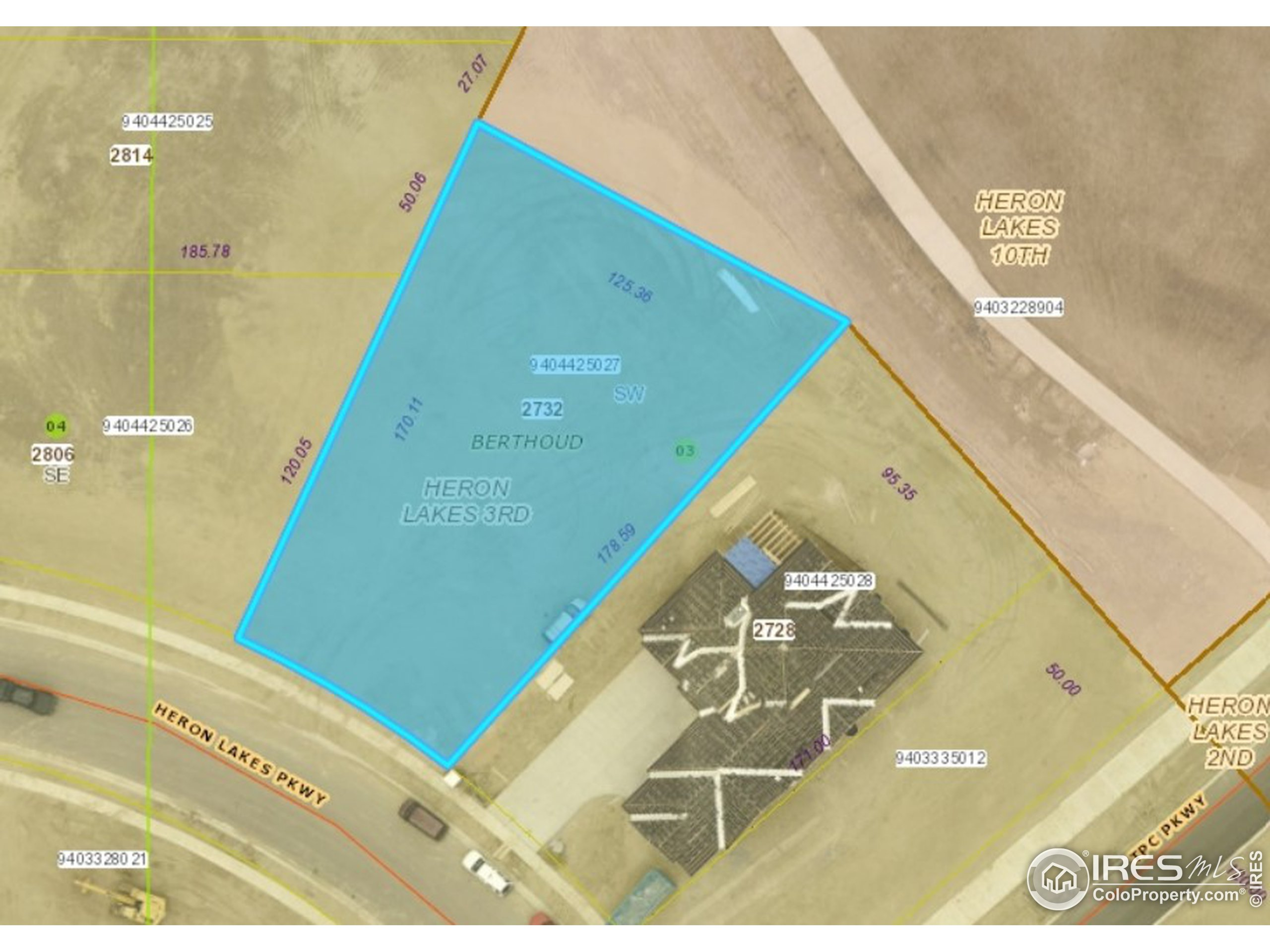 .38 acre lot backing to the golf course