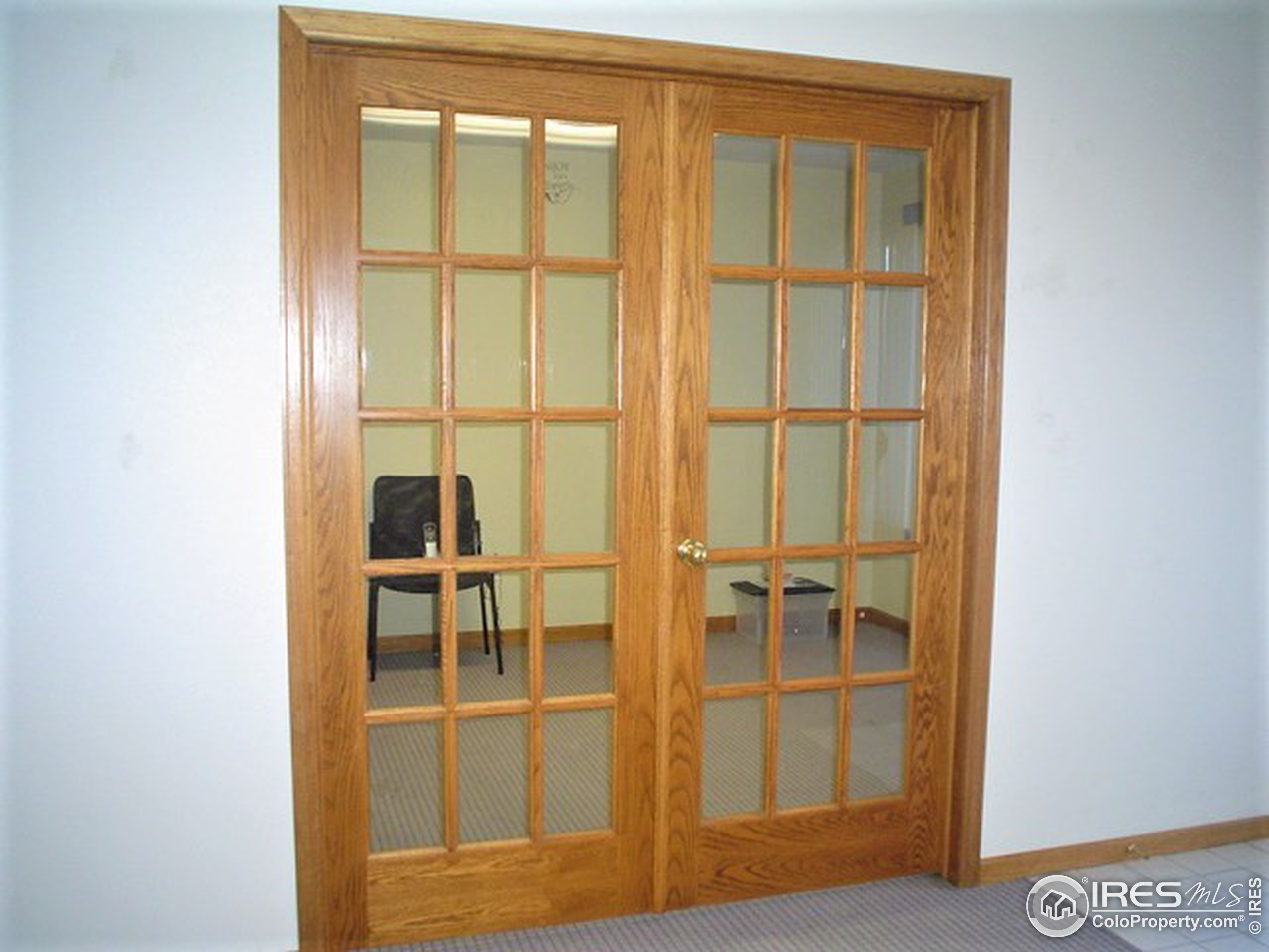 French Doors to Office 1
