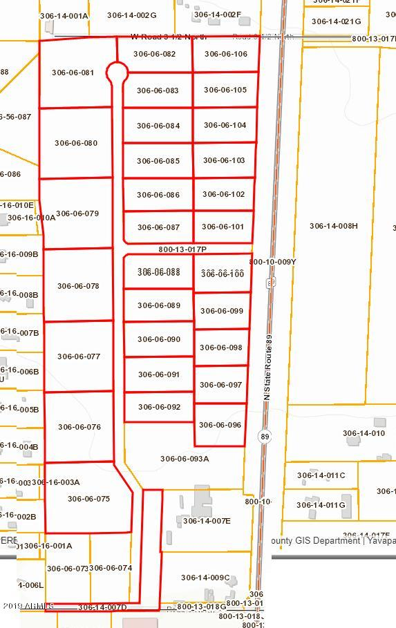 0 N State Route 89 -- # 106, Chino Valley, Arizona 86323, ,Land,For Sale,0 N State Route 89 -- # 106,5975378