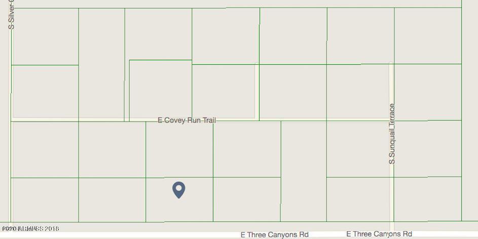 tbd Three Canyons Boulevard # 24, Hereford, AZ 85615, ,Land,For Sale,tbd Three Canyons Boulevard # 24,6057299