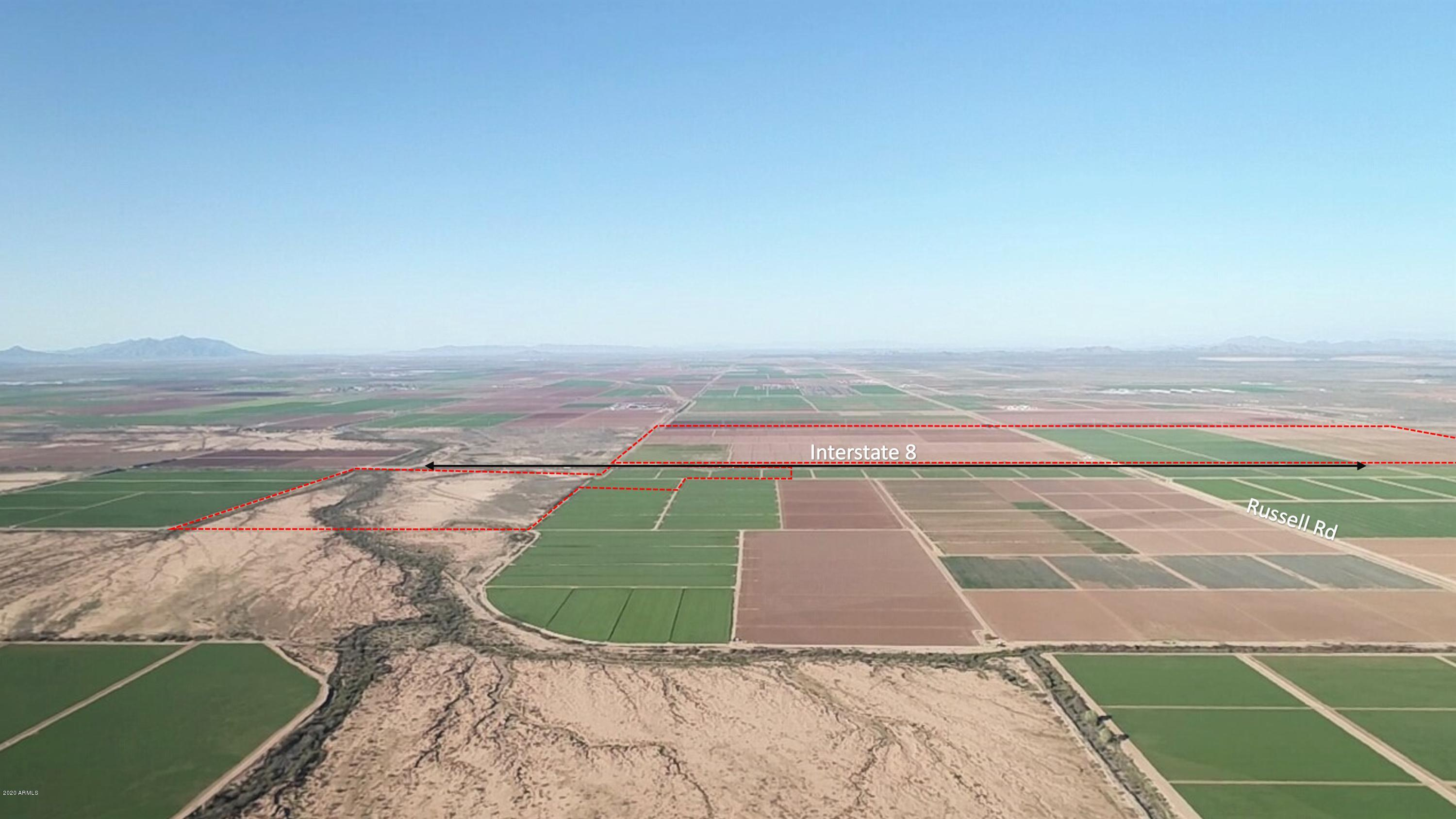 0 E Russell Road # 0, Stanfield, Arizona 85172, ,Land,For Sale,0 E Russell Road # 0,6067099