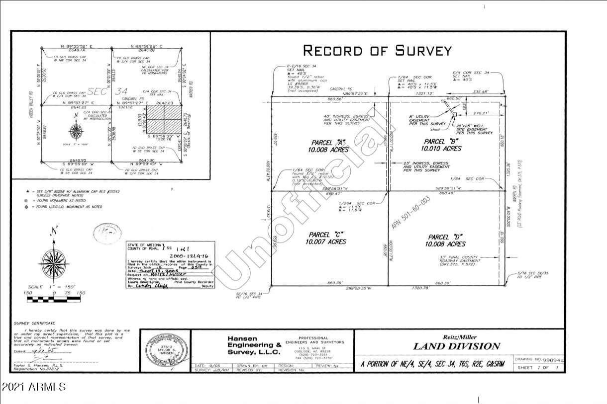 0 W Cardinal Road, Maricopa, AZ 85139, ,Land,For Sale,0 W Cardinal Road,6241375