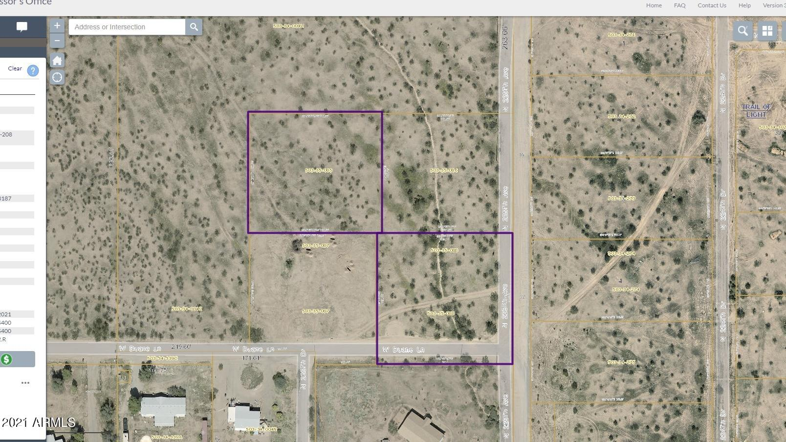 225X2 W Duane Lane # 4, Wittmann, AZ 85361, ,Land,For Sale,225X2 W Duane Lane # 4,6208276