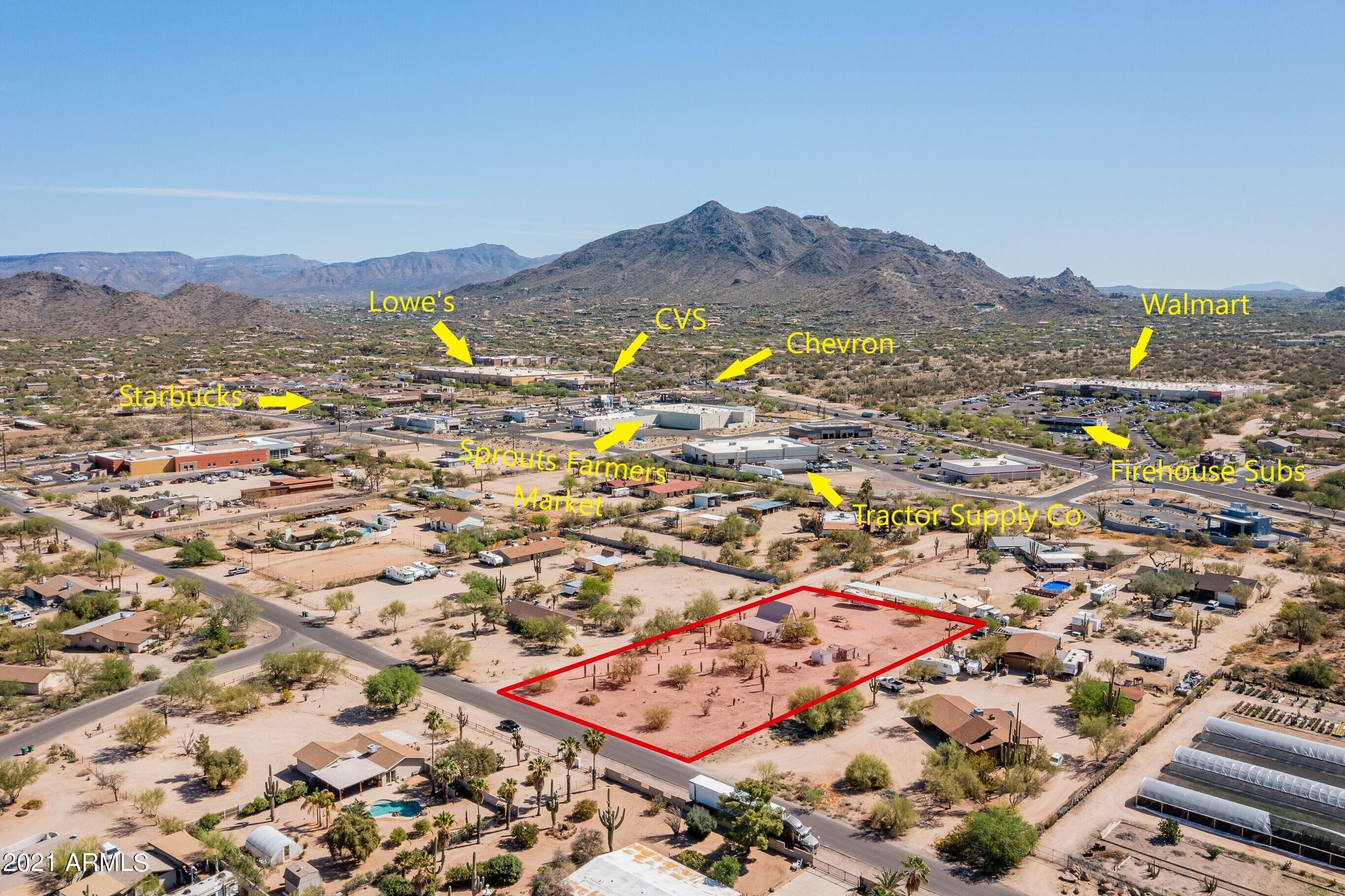 34047 N 52nd Street, Cave Creek, AZ 85331, ,Land,For Sale,34047 N 52nd Street,6218881
