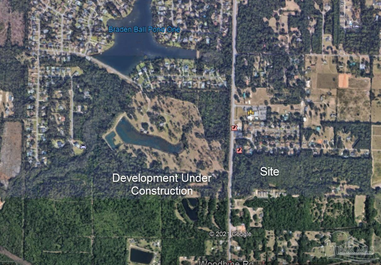 The Site is across Woodbine Rd from a 200+ acre Commercial/Residential development that is under construction. The development climate in South Santa Rosa County is excellent. A Zoning change to Commercial use was approved by the County. The State FLU was changed to Commercial.